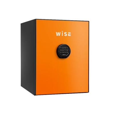 【設置無料】ディプロマット デジタルテンキー式 デザイン 金庫 (WiSE) 60分耐火 内容量36L 警報アラーム付 WS500ALO オレンジ【送料無料】【KK9N0D18P】