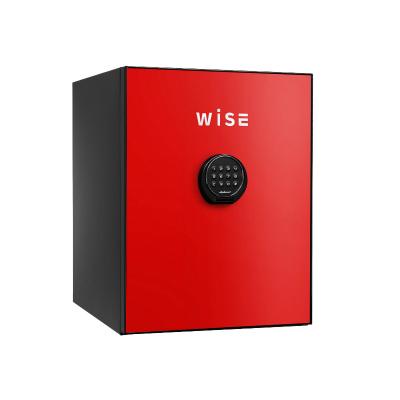 【設置無料】ディプロマット デジタルテンキー式 デザイン 金庫 (WiSE) 60分耐火 内容量36L 警報アラーム付 WS500ALR レッド【送料無料】【KK9N0D18P】