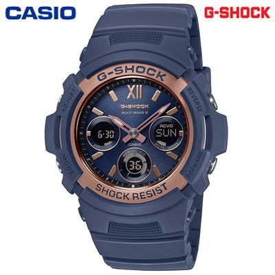 【キャッシュレス5%還元店】【正規販売店】カシオ 腕時計 CASIO G-SHOCK メンズ AWG-M100SNR-2AJF 2019年11月発売モデル【送料無料】【KK9N0D18P】