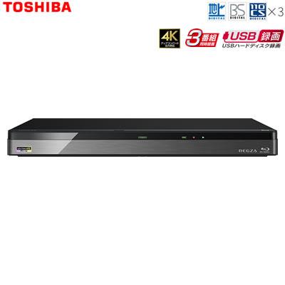 【キャッシュレス5%還元店】東芝 ブルーレイディスクレコーダー 時短 レグザブルーレイ 1TB HDD内蔵 Ultra HD対応 DBR-UT109【送料無料】【KK9N0D18P】