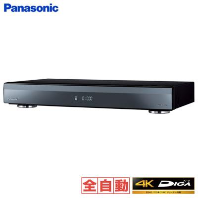 パナソニック ブルーレイディスクレコーダー 4Kチューナー内蔵 全自動ディーガ 11チューナー 10TB HDD内蔵 DMR-4X1000【送料無料】【KK9N0D18P】