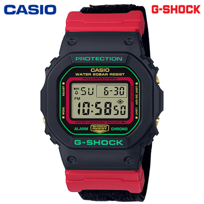 【キャッシュレス5%還元店】【正規販売店】カシオ 腕時計 CASIO G-SHOCK メンズ DW-5600THC-1JF 2019年11月発売モデル【送料無料】【KK9N0D18P】