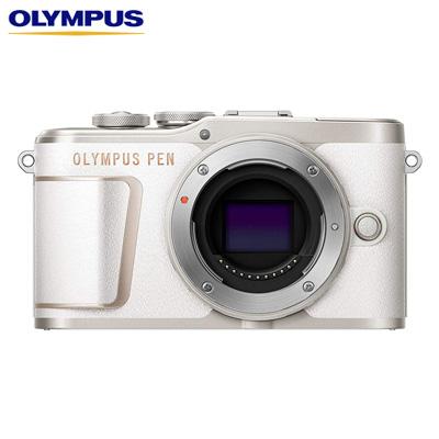 【キャッシュレス5%還元店】オリンパス ミラーレス一眼カメラ OLYMPUS PEN E-PL10 ボディー E-PL10-BODY-WH ホワイト【送料無料】【KK9N0D18P】