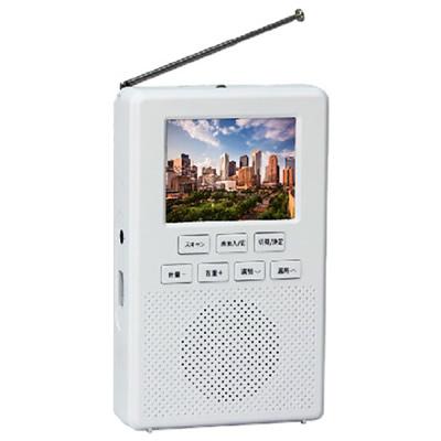 送料無料 即納最大半額 代引き手数料無料 即納 アズマ KK9N0D18P EA-1SR 驚きの値段で 手回し充電付きワンセグラジオ