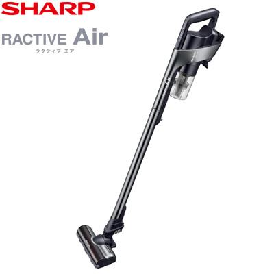 【キャッシュレス5%還元店】シャープ 掃除機 コードレススティッククリーナー ラクティブ エア EC-VR3SX-B ブラック系メタリックブラック RACTIVE Air【送料無料】【KK9N0D18P】