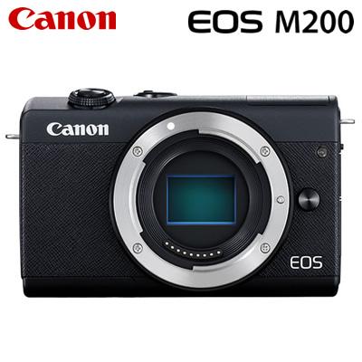 【キャッシュレス5%還元店】キヤノン ミラーレス一眼 EOS M200 ボディー デジタルカメラ EOSM200BK-BODY ブラック 3699C001 Canon【送料無料】【KK9N0D18P】