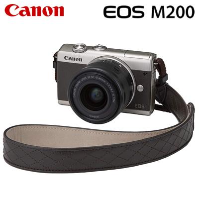【キャッシュレス5%還元店】キヤノン ミラーレス一眼 EOS M200 リミテッドゴールドキット デジタルカメラ EOSM200LIMITEDGKIT ゴールド 3701C002 Canon【送料無料】【KK9N0D18P】