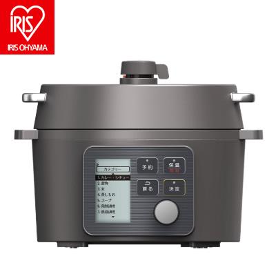 アイリスオーヤマ 電気圧力鍋 2.2L KPC-MA2-B ブラック【送料無料】【KK9N0D18P】