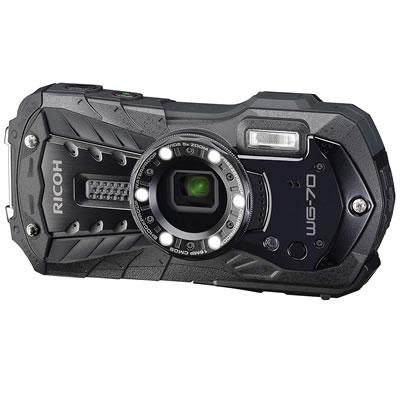 【即納】リコー デジタルカメラ WG-70 WG-70-BK ブラック【送料無料】【KK9N0D18P】