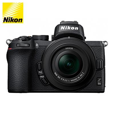 【キャッシュレス5%還元店】ニコン ミラーレス 一眼カメラ Z 50 ブラック 16-50 VR レンズキット Z50-16-50-VR-BK【送料無料】【KK9N0D18P】