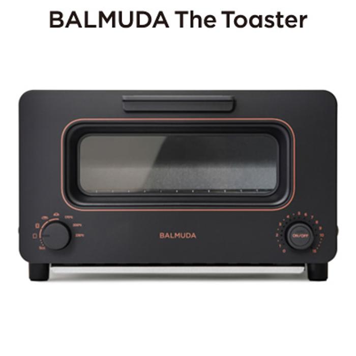 バルミューダ トースター BALMUDA The Toaster スチームトースター K05A-BK ブラック 2020年秋モデル【送料無料】【KK9N0D18P】