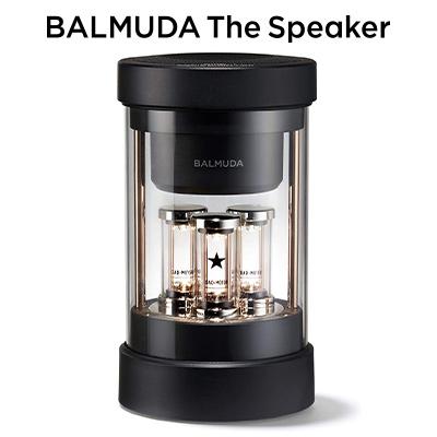 送料無料 代引き手数料無料 即納 バルミューダ 全店販売中 ワイヤレススピーカー 訳あり品送料無料 BALMUDA KK9N0D18P The Speaker M01A-BK Bluetooth ブラック