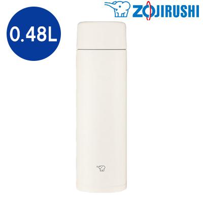 送料無料 代引き手数料無料 象印 注文後の変更キャンセル返品 水筒 0.48L ステンレスボトル SM-ZA48-WM KK9N0D18P ペールホワイト 卓出