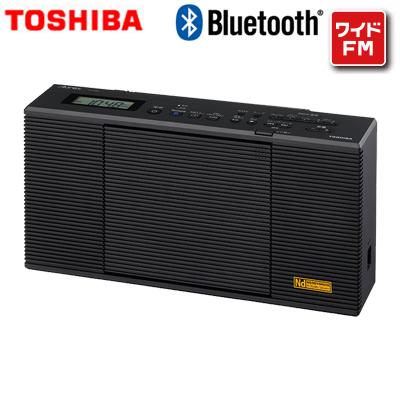 送料無料 超激得SALE 代引き手数料無料 東芝 CDラジオ Bluetooth TY-AN1-K ブラック ワイドFM 倉庫 密閉型ネオジウムスピーカー搭載 KK9N0D18P