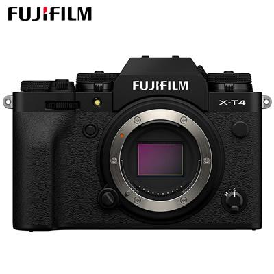 富士フイルム ミラーレス一眼カメラ FUJIFILM X-T4 ボディ ブラック X-T4-B【送料無料】【KK9N0D18P】