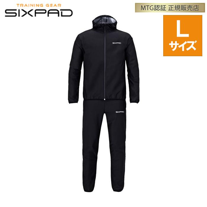 【即納】正規品 MTG シックスパッド サウナスーツ Lサイズ SIXPAD Sauna Suit SS-AW00C【送料無料】【KK9N0D18P】