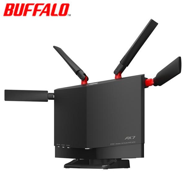 送料無料 代引き手数料無料 即納 バッファロー Wi-Fiルーター Wi-Fi 6対応 4803+860Mbps WXR-5700AX7S ご予約品 ブラック 気質アップ KK9N0D18P ハイパフォーマンスモデル 11ax