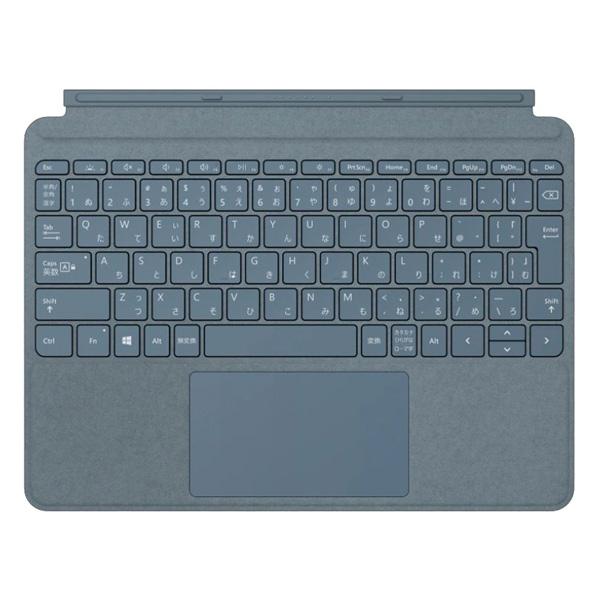 送料無料 代引き手数料無料 即納 マイクロソフト Surface Go タイプ カバー KK9N0D18P Cover 無料サンプルOK Microsoft 日本語 Type アイスブルー 超安い KCS-00123