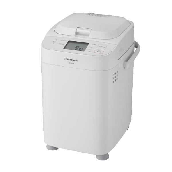 メーカー公式 代引き手数料無料 送料無料 パナソニック 1斤タイプ SD-MT4-W KK9N0D18P 新品 ホワイト ホームベカリー