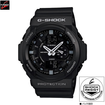 【キャッシュレス5%還元店】カシオ 腕時計 G-SHOCK GA-150-1AJF メンズ 2012年3月新製品【送料無料】【KK9N0D18P】