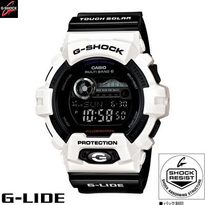 【キャッシュレス5%還元店】カシオ 腕時計 G-SHOCK G-LIDE GWX-8900B-7JF ソーラー電波 メンズ 2012年5月新製品【送料無料】【KK9N0D18P】