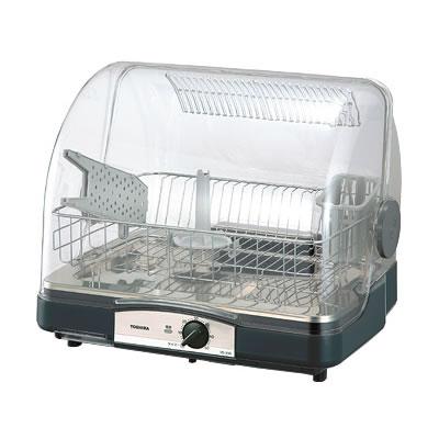 セットアップ 代引手数料無料 送料無料 店内全品対象 東芝 6人用 ブルーブラック KK9N0D18P VD-B5S-LK 食器乾燥器