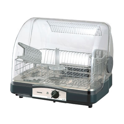 東芝 6人用 食器乾燥器 VD-B5S-LK ブルーブラック【送料無料】【KK9N0D18P】