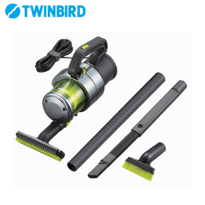 Twin bird cleaning machine power handy cleaner handy Jet cyclone EX HC-E251GY metallic gray