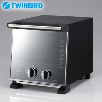 Twin Bird Slim toaster oven 960W Pearl Black TS D037PB