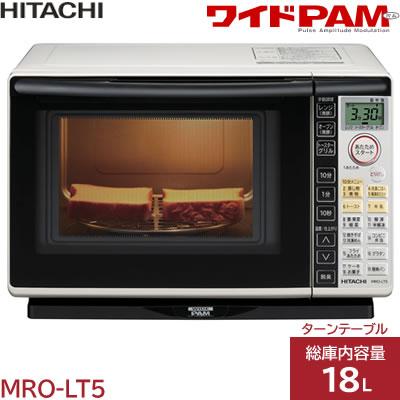 히타치 18 L오븐 레인지 와이드 PAM MRO-LT5-W화이트