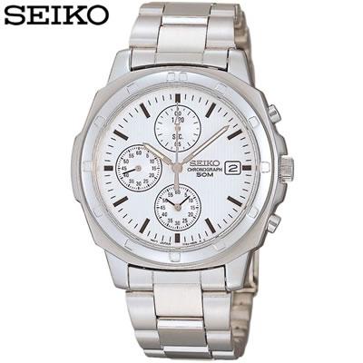 【キャッシュレス5%還元店】正規品 セイコー 腕時計 メンズ SND187PC シルバー SEIKO 【送料無料】【KK9N0D18P】