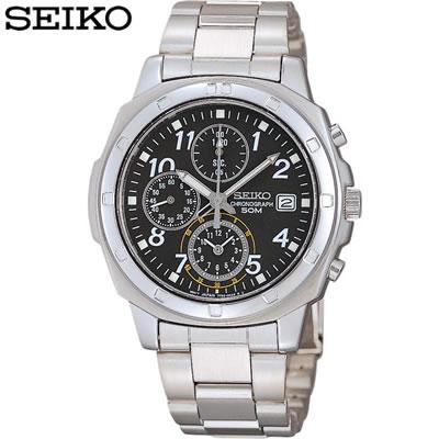 【キャッシュレス5%還元店】正規品 セイコー 腕時計 メンズ SND195PC ブラック SEIKO 【送料無料】【KK9N0D18P】