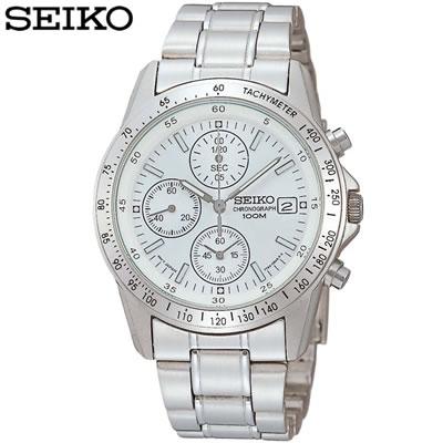 正規品 セイコー 腕時計 メンズ SND363PC ホワイト SEIKO 【送料無料】【KK9N0D18P】
