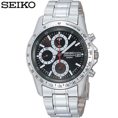 【キャッシュレス5%還元店】正規品 セイコー 腕時計 メンズ SND371PC ブラック SEIKO 【送料無料】【KK9N0D18P】
