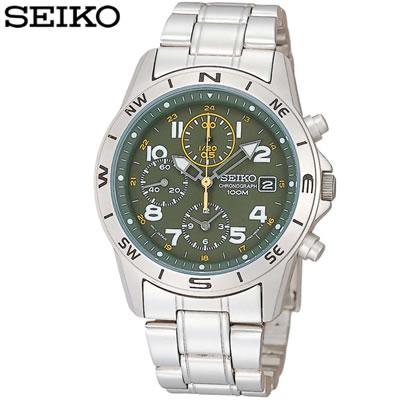 正規品 セイコー 腕時計 メンズ SND377PC カーキ SEIKO 【送料無料】【KK9N0D18P】