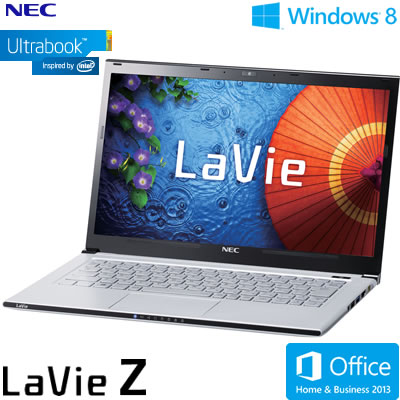 NEC 울트라 북 노트 PC LaVie Z LZ550/MSS 13.3형 와이드 PC-LZ550MSS