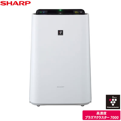 Sharp plasmacluster humidifier Air Purifier cleaner KC-D50-W white of sky Qing-23 mats humidifier-13 mats