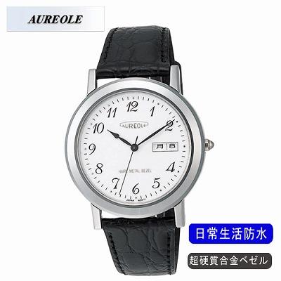 【キャッシュレス5%還元店】AUREOLE オレオール 腕時計 SW-436M-3【送料無料】【KK9N0D18P】