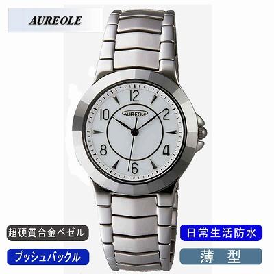 AUREOLE オレオール 腕時計 SW-457M-3【送料無料】【KK9N0D18P】
