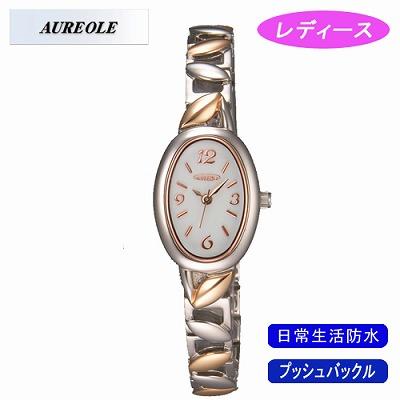 【キャッシュレス5%還元店】AUREOLE オレオール 腕時計 SW-460L-2【送料無料】【KK9N0D18P】