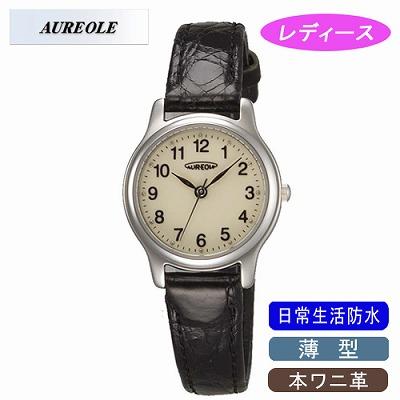 【キャッシュレス5%還元店】AUREOLE オレオール 腕時計 SW-467L-4【送料無料】【KK9N0D18P】
