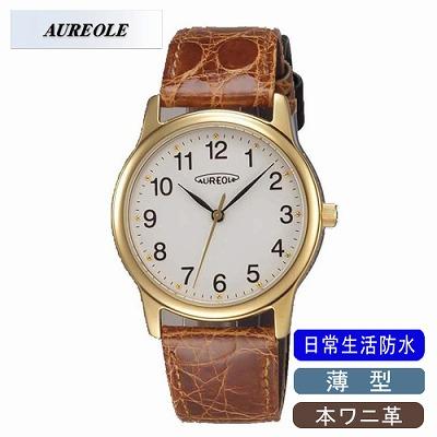 AUREOLE オレオール 腕時計 SW-467M-2【送料無料】【KK9N0D18P】