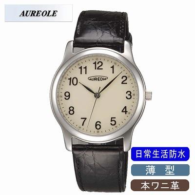 【キャッシュレス5%還元店】AUREOLE オレオール 腕時計 SW-467M-4【送料無料】【KK9N0D18P】