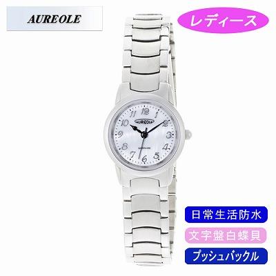 【キャッシュレス5%還元店】AUREOLE オレオール 腕時計 SW-484L-3【送料無料】【KK9N0D18P】