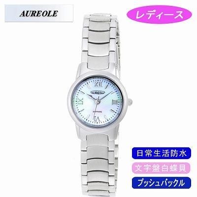 【キャッシュレス5%還元店】AUREOLE オレオール 腕時計 SW-484L-5【送料無料】【KK9N0D18P】