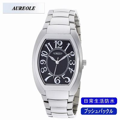 【キャッシュレス5%還元店】AUREOLE オレオール 腕時計 SW-488M-1【送料無料】【KK9N0D18P】