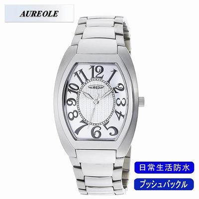 【キャッシュレス5%還元店】AUREOLE オレオール 腕時計 SW-488M-3【送料無料】【KK9N0D18P】