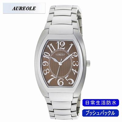 【キャッシュレス5%還元店】AUREOLE オレオール 腕時計 SW-488M-6【送料無料】【KK9N0D18P】