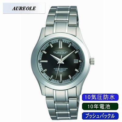 【キャッシュレス5%還元店】AUREOLE オレオール 腕時計 SW-490M-1【送料無料】【KK9N0D18P】