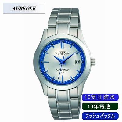 AUREOLE オレオール 腕時計 SW-490M-3【送料無料】【KK9N0D18P】